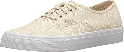 Vans Unisex Authentic (Hemp Linen) Turtledove/T Skate Shoe 4 Men US/5.5 Women US