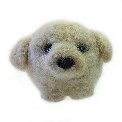 Puppy Dog Needle Felted Wool Ornament ()