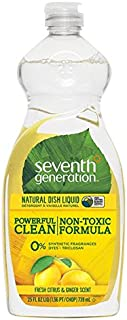 product image for Seventh Generation Dishwashing Liquid, Fresh Citrus and Ginger, 25 oz (Pack of 2)