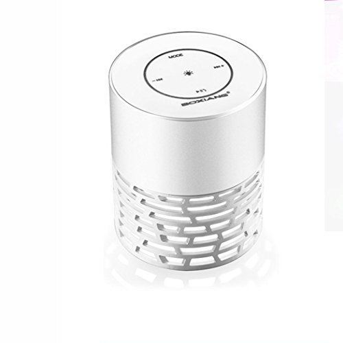 Naladoo Mini Portable LED Bluetooth Speaker Wireless Bass