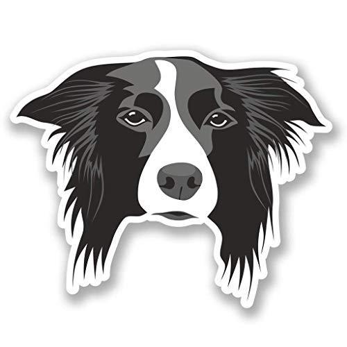 Border Collie Dog Vinyl Sticker Decal Laptop Car Bumper Sticker Travel Luggage Car iPad Sign Fun 5