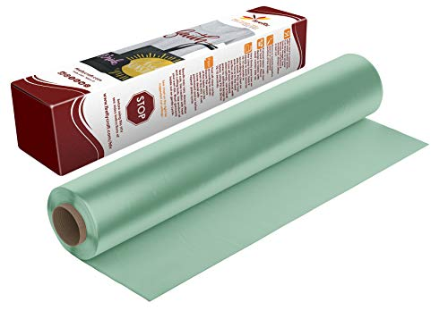 Firefly Craft Regular Mint Green Heat Transfer Vinyl | Mint Green HTV Vinyl | Mint Green Iron On Vinyl for Cricut and Silhouette | Heat Press Vinyl for Shirts - 12 x 20