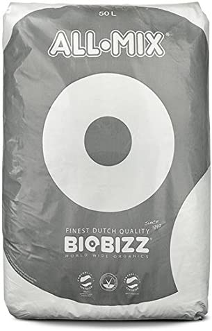 Biobizz 02-075-110 - All-Mix mezcla de tierra pre-fertilizada, 50 ...