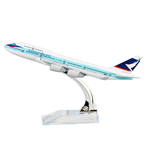Cathay Pacific Airways Boeing 747 Alloy Metal Souvenir Model Airplane