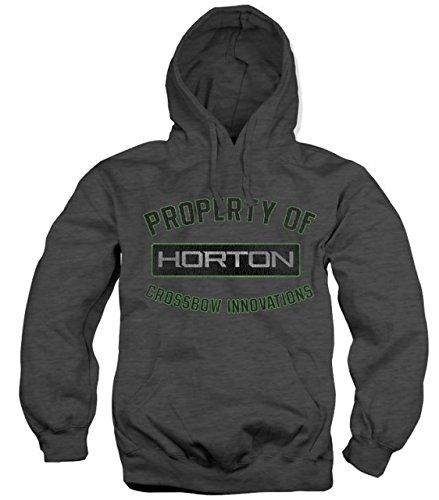 Horton Archery Property of hooded sweatshirt - Charcoal, ...