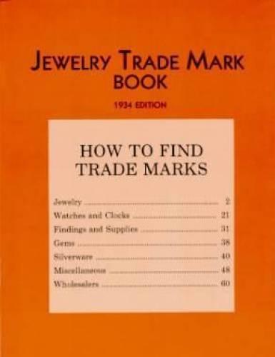 Jewelry Trade Mark Book (Costume Jewellery Marks Identification)