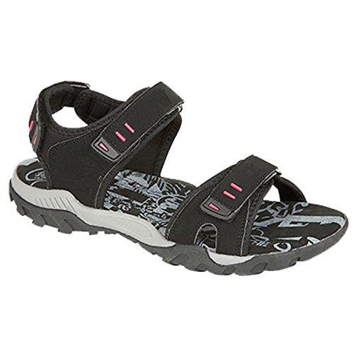Desire Noir Clothing Noir Noir PDQ Sandales Marche Sport Taupe Trail uk3 uk8 Velcro tailles UTpUOqrxwH