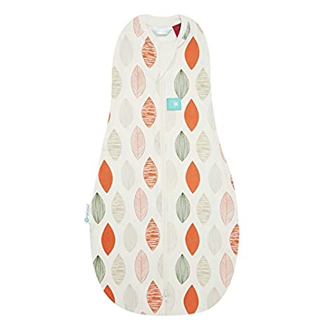 2 in 1 Swaddle Transitions into arms Free Wearable Blanket Sleeping Bag Mountains, 0-3 Months 2 Way Zipper for Easy Diaper Changes ergoPouch 1 tog Cocoon Swaddle Bag