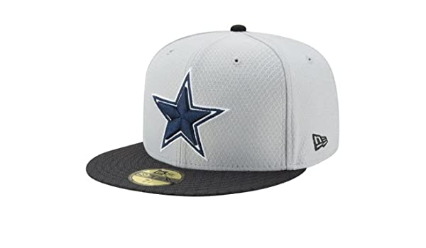 Amazon.com   New Era Dallas Cowboys Fan Gear Sideline 59Fifty Cap   Sports    Outdoors 77336ff53