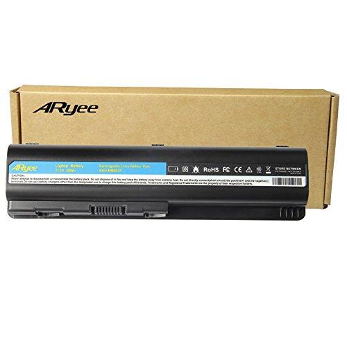 HP Laptop Battery Replacement for 593553-001 593554-001 MU06 MU09 G32 G42 G42T G56 G62 G72 G4 G6 G6T G7 Compaq Presario CQ32 CQ42 CQ43 CQ430 CQ56 CQ62 CQ72 DM4 DV3 DV5, 11.1V 4400mAh