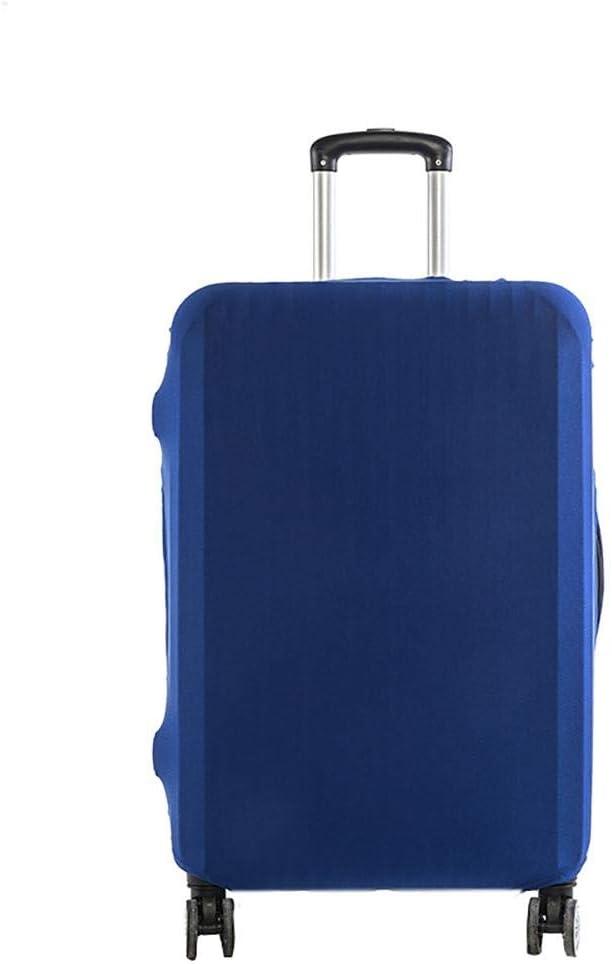 Minsa Housse de Protection imperm/éable /à leau et /à la poussi/ère pour Bagages /épais et Anti-Rayures Bleu Bleu - LBRKXTEA10 Lavable pour Valise de Voyage de 18 /à 30 Pouces