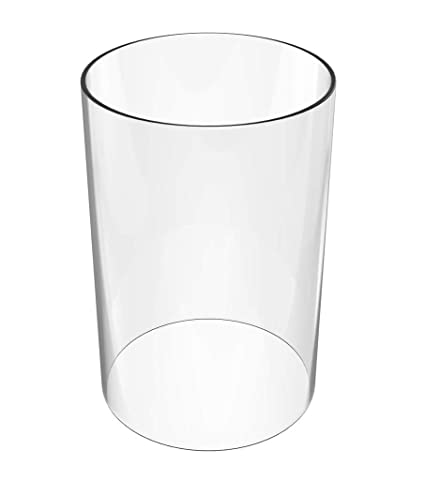 Amazoncom Amayan Glass Hurricane Candle Holder Tall Glass Cylinder