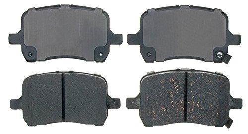 ACDelco 14D1160CH Advantage Ceramic Front Disc Brake Pad Set with Hardware (2012 Chevrolet Malibu Brake)