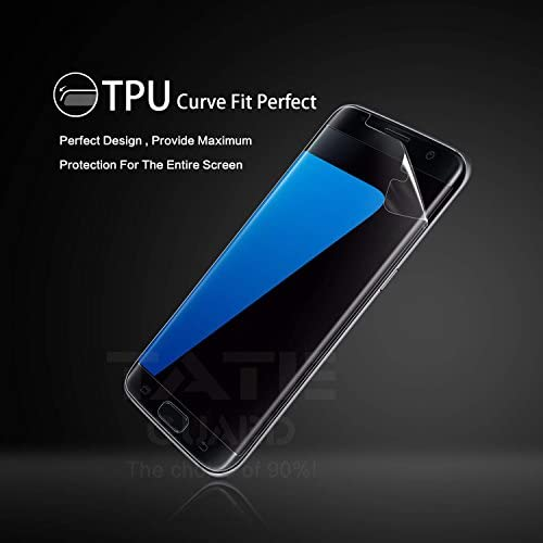 [Edge coverage & Non-lifiting] Tateguard Samsung Galaxy S8 plus Screen Protector [2+1Pack Front&Back] [Case Friendly][Shock-Proof] Sales