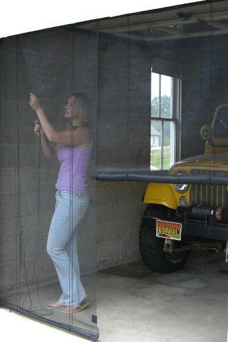 Snavely Internatl DS83938 Garage Instant Screen Door (Garage Door 9ft X 7ft)