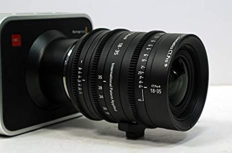 Cinematics Cine Lens Sigma 18-35mm T2.0 EF for Canon 5D C300 RED Raven BMCC Black Magic URSA Sony A7S