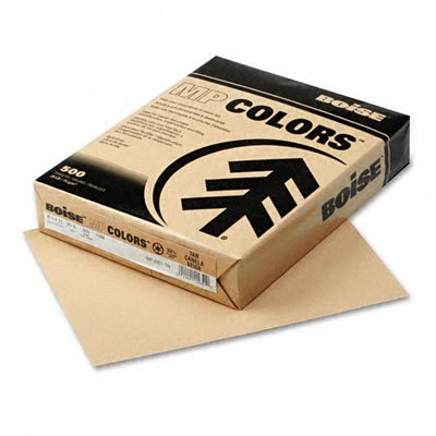 Boise X-9 Multi-Use Copy Paper, 92 Bright, 20lb, 8-1/2 x 11, White, 2500 Sheets/Carton - OX9001JR by Boise (Image #1)