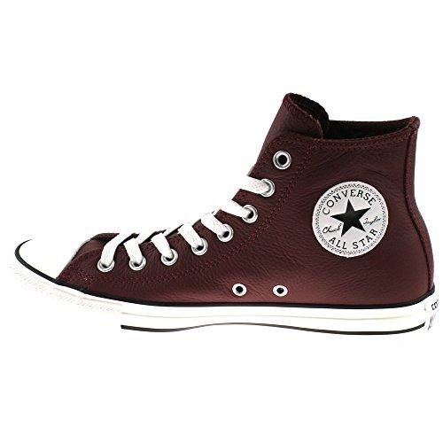 ConverseChuck Taylor all Star Adulte Seasonal Leather Hi - Stivaletti Unisex – Adulto Rosso (Borgogna)