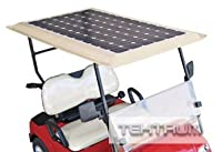 Tektrum Universal 36v Solar Panel Battery Charger Kit for Golf Cart