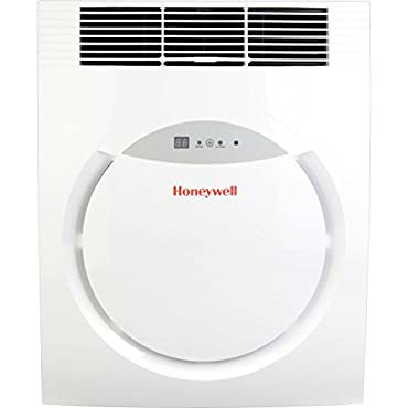 Honeywell MF08CESWW 8,000 BTU Portable Air Conditioner with Remote Control White