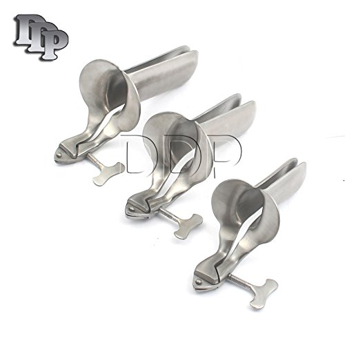 DDP 3 PIECE SET OF COLLIN SPECULUM STAINLESS STEEL SIZES ...