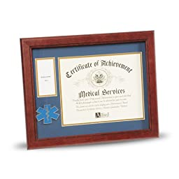 Allied Products Frame EMS Medallion Certificate and Medal Frame, 8 by 10-Inch