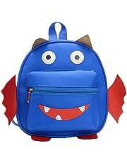 Dapei Mochila Infantil Anti-Perdida Bolsa de dibujos animados Bolsa de dibujos animados Pequeña Mochila Monstruo Azul