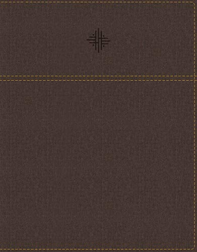(NRSV, Journal the Word Bible with Apocrypha, Leathersoft, Brown, Comfort Print: Reflect, Journal, or Create Art Next to Your Favorite Verses)