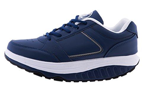 Fitness Navy TM RASSODA Blu Dimagranti Scarpe New EGLEMTEK Sportive Glutei Benessere BASCULANTI 0UF5qw