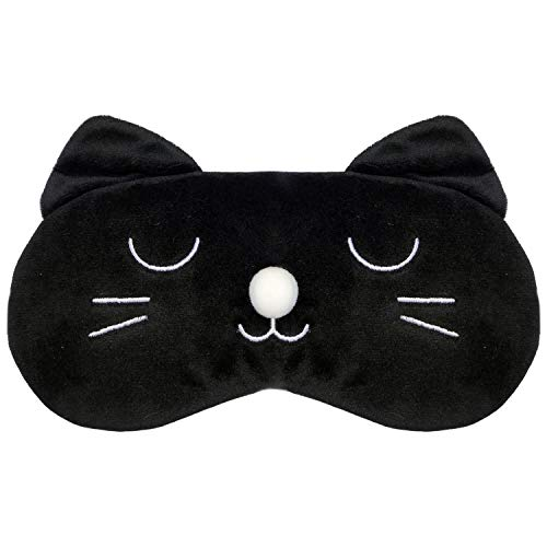 Party Masks - Comfortable And Soft Cute Bunny Eye Mask Shade Cover Rest Eyepatch Blindfold Shield - Masquerade Headbands Capes Pack Adults Superhero Wear Party Masks Lace Male Kids Stick -