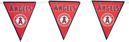 Amscan Major League Baseball Licensed Los Angels Pennant Banner Party Decoration Plastic 12' Childrens (Piece) [並行輸入品]   B07F8FGVB6