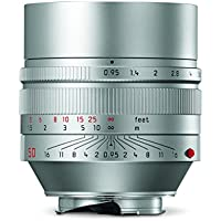 Leica 11667 Noctilux-M 50mm/f0.95 ASPH Normal Lens, Silver