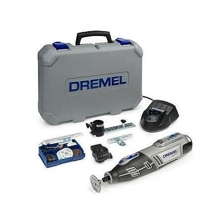 Dremel 8200 - Herramienta multifunció n (con funda, 35 accesorios y 2 baterí as Li-Ion) 35 accesorios y 2 baterías Li-Ion) F0138200KG