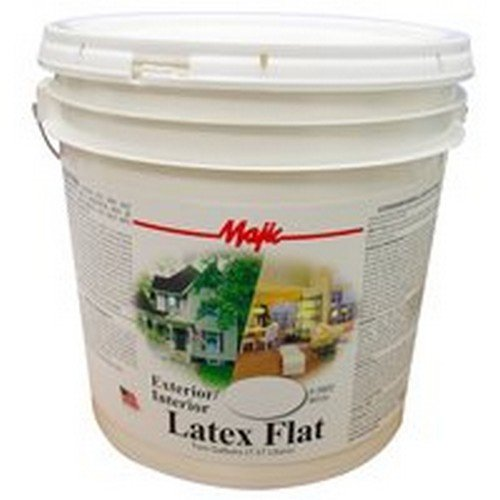 YENKIN MAJESTIC PAINT EXT/INT 8-0802-6 Exterior/Interior Latex Flat 2G