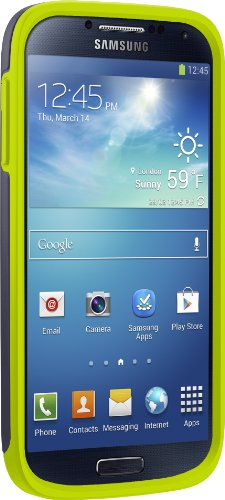 Price comparison product image Otterbox Symmetry Series Case for Samsung Galaxy S4 - Retail Packaging - Lime Dream
