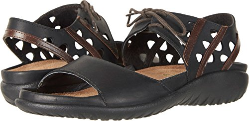 - NAOT Women's Mangere Oily Coal Nubuck/Pecan Brown Leather 38 M EU