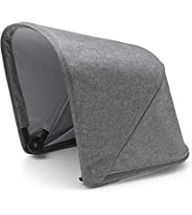 The Bugaboo Fox Sun Canopy keeps your little one comfortable and protected from UV rays. It's made for the Bugaboo Fox stroller. Whether you're building a Fox stroller from the ground up or just looking to give your Fox a style update, the Su...