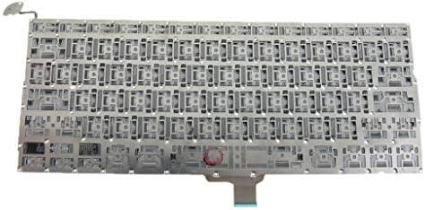 D DOLITY Portátil Ordenador Portátil Teclado EE. UU. para Apple MacBook Pro 13 Pulgadas A1278 2008-2013 10