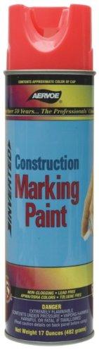 (Aervoe 255 12 Pk 17Oz Fluorescent White Construction Marking Paint)