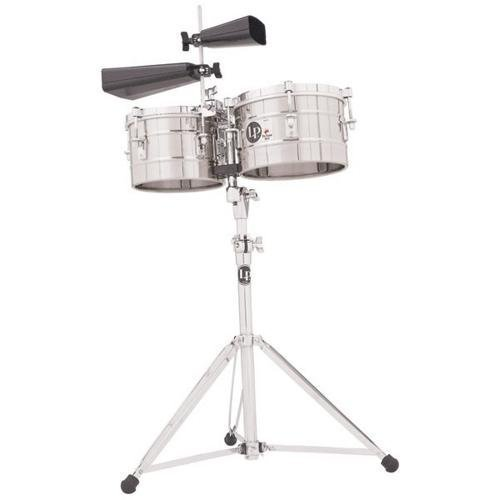 Latin Percussion LP272-S Timbal Stainless Steel by Latin Percussion