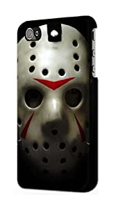 S1098 Scary Hockey Mask Jason Case Cover For IPHONE 4 4S by lolosakes