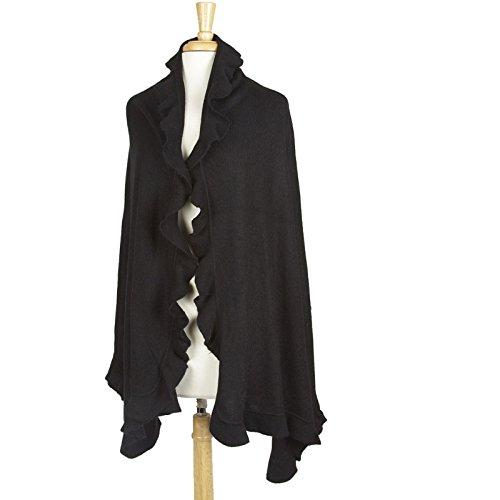 Wool Ruffle Jacket - 9
