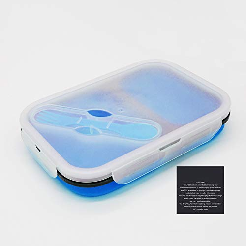Silicone Collapsible Portable Lunch Box Bowl Bento Boxes Folding Food Storage Container Lunchbox For Outdoor Travel