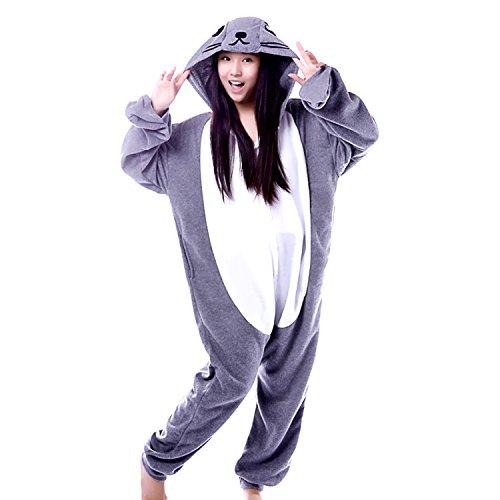 BOMOVO Pijamas para Mujer Sweet - foca gris
