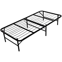 Homdox Mattress Foundation Platform Bed Frame Box Spring Replacement Quiet Noise-Free Maximum Under-bed Storage Tween (Twin Size)
