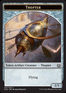 X4 Kaladesh KLD Magic MTG MINT CARD THOPTER TOKEN 9//12