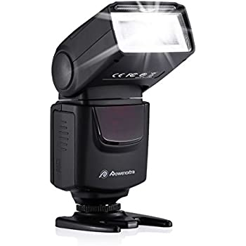 Amazon.com : Powerextra Professional DF-400 Speedlite Camera Flash ...