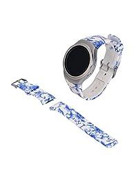 Watch Band, ABC Luxury Silicone Watch Band Strap for Samsung Galaxy Gear S2 SM-R720 (H)