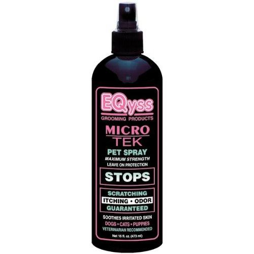 EQyss Micro-Tek Medicated Pet Spray, 16-Ounce, My Pet Supplies