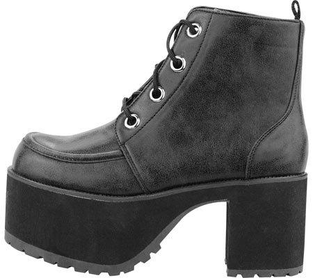 k eye Distressed 4 T u Boot Nosebleed Women's Black Shoes Icq5qO0